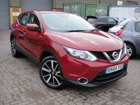 USED 2015 64 NISSAN QASHQAI 1.2 ACENTA DIG-T SMART VISION XTRONIC 5d AUTO 113 BHP ANY PART EXCHANGE WELCOME, COUNTRY WIDE DELIVERY ARRANGED, HUGE SPEC
