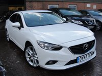 USED 2013 63 MAZDA 6 2.2 D SPORT NAV 4d 148 BHP ANY PART EXCHANGE WELCOME, COUNTRY WIDE DELIVERY ARRANGED, HUGE SPEC