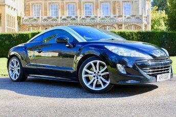 2011 PEUGEOT RCZ 1.6 THP GT 2d 200 BHP £7750.00