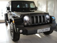 2015 JEEP WRANGLER KAHN SPECIAL EDITION FULLY LOADED 2.8 CRD 4d AUTO 197 BHP £POA