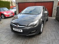 USED 2013 13 VAUXHALL ASTRA 1.7 ENERGY CDTI 5d 108 BHP ONLY £30 YR ROAD TAX. 1 OWNER. FULL VAUXHALL SERVICE HISTORY. 1 YR MOT.