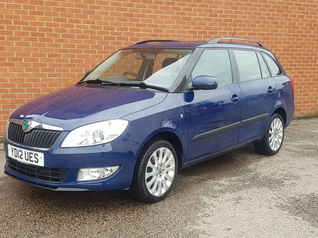 2012 12 SKODA FABIA 1.6 ELEGANCE TDI CR 5d ** 1 OWNER FROM NEW **