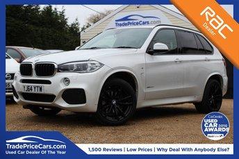 2014 BMW X5 3.0 XDRIVE30D M SPORT 5d 255 BHP £33950.00