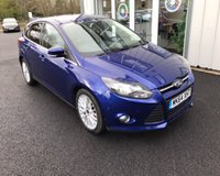 USED 2014 64 FORD FOCUS 1.6 TDCI ZETEC NAVIGATOR 115 BHP THIS VEHICLE IS AT SITE 1 - TO VIEW CALL US ON 01903 892224