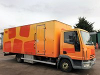 USED 2005 55 IVECO-FORD EUROCARGO 3.9 75E17S 170 BHP DAY CAB MOBILE OFFICE/INCIDENT UNIT IDEAL CONVERSION CHOICE OF 2+ AIR-CON+DIRECT COUNCIL