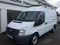 2011 FORD TRANSIT T350 2.2 TDCi 115 MWB Medium Roof 6-Speed £8695.00