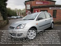 2006 FORD FIESTA 1.6 STYLE CLIMATE 16V 5d AUTO 100 BHP £3500.00