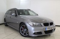 USED 2010 03 BMW 3 SERIES 2.0 320D M SPORT TOURING 5DR 181 BHP SERVICE HISTORY + LEATHER SEATS + PARKING SENSOR + CRUISE CONTROL + MULTI FUNCTION WHEEL + 17 INCH ALLOY WHEELS