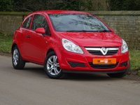 USED 2009 59 VAUXHALL CORSA 1.0 ACTIVE 3dr FSH LOW MILES ONLY 13K AIR CON