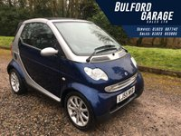 2005 SMART FORTWO 0.7 PASSION SOFTOUCH 2d AUTO 61 BHP £2494.00