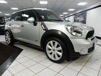 2011 MINI COUNTRYMAN 2.0 COOPER SD ALL4 CHILLI PK AUTO 141 BHP £11450.00