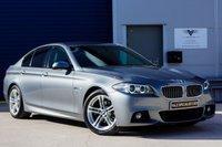 USED 2015 15 BMW 5 SERIES 2.0 520D M SPORT AUTO - SATELLITE NAVIGATION