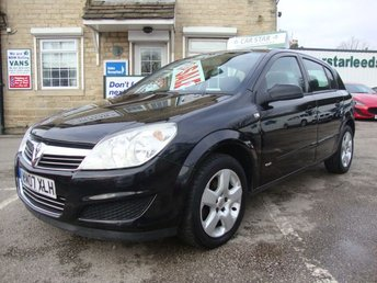 2007 VAUXHALL ASTRA 1.8 CLUB 5DR AUTOMATIC £2689.00