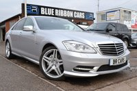 USED 2012 12 MERCEDES-BENZ S CLASS 3.0 S350 CDI AMG BLUETEC 4d AUTO 258 BHP AMG SPORT EDITION, FMBSH