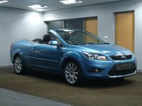 USED 2008 58 FORD FOCUS 2.0 CC2 2d 144 BHP CONVERTIBLE