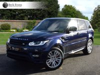 USED 2015 15 LAND ROVER RANGE ROVER SPORT 4.4 AUTOBIOGRAPHY DYNAMIC 5d AUTO 339 BHP 4.4. AUTOBIOGRAPHY DYNAMIC