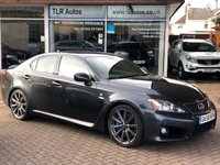 2008 LEXUS IS IS F 5.0 4d AUTO 417 BHP £16995.00