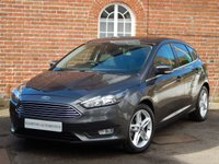 USED 2016 16 FORD FOCUS 1.6 ZETEC 5d AUTO 124 BHP