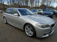 USED 2012 12 BMW 5 SERIES 2.0 520D M SPORT TOURING 5d AUTO 181 BHP