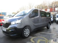 2015 RENAULT TRAFIC NINE SEAT MINIBUS 1.6 LL29 BUSINESS ENERGY DCI DIESEL125 BHP, ONE OWNER, ONLY 27,000 MILES FULL SERVICE HISTORY , UNDER DEALER WARRANTY TILL 17-12-18 £10500.00