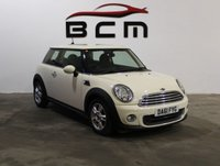 2011 MINI HATCH ONE 1.6 ONE 3d 98 BHP £5885.00