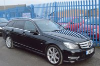 2011 MERCEDES-BENZ C CLASS 2.1 C220 CDI BLUEEFFICIENCY SPORT ED125 5d AUTO 170 BHP £7250.00