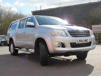 2014 TOYOTA HI-LUX 3.0 INVINCIBLE 4X4 D-4D DCB 1d AUTO 169 BHP £16995.00