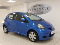 USED 2010 10 TOYOTA AYGO 1.0 BLUE VVT-I 5d 67 BHP FULL HISTORY, 1 OWNER, £20 ROAD TAX, LOW RUNNING COSTS