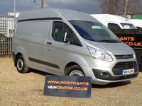 2014 FORD TRANSIT CUSTOM VAN 2.2 310 TREND SWB HIGH ROOF P/V 5d 125 BHP £8990.00