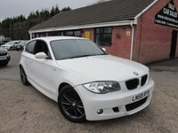 2009 BMW 1 SERIES 118D M SPORT 3dr £5990.00