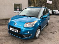 2011 CITROEN C3 PICASSO 1.6 PICASSO EXCLUSIVE HDI 5d 90 BHP £3995.00