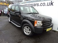 USED 2006 06 LAND ROVER DISCOVERY 2.7 3 TDV6 5 SEATS 5d AUTO 188 BHP Full Service History Superb Condition