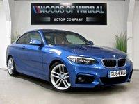 2014 BMW 2 SERIES 2.0 218D M SPORT 2d 141 BHP £13980.00