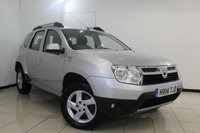 USED 2014 14 DACIA DUSTER 1.5 LAUREATE DCI 5DR 107 BHP FULL RENAULT SERVICE HISTORY + BLUETOOTH + AUXILIARY PORT + AIR CONDITIONING + RADIO/CD + 16 INCH ALLOY WHEELS
