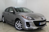 USED 2012 12 MAZDA 3 1.6 SPORT 5DR 103 BHP FULL SERVICE HISTORY + CRUISE CONTROL + HEATED SEATS + MULTI FUNCTION WHEEL + CLIMATE CONTROL + 17 INCH ALLOY WHEELS
