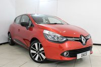 USED 2015 RENAULT CLIO 1.5 DYNAMIQUE S MEDIANAV DCI 5DR AUTOMATIC 90 BHP SAT NAVIGATION + BLUETOOTH + CRUISE CONTROL + MULTI FUNCTION WHEEL + AUXILIARY PORT + 17 INCH ALLOY WHEELS