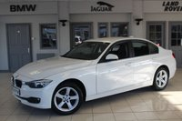 USED 2015 64 BMW 3 SERIES 2.0 318D SE 4d 141 BHP FULL BLACK LEATHER SEATS + BMW SERVICE HISTORY + SAT NAV + £30 ROAD TAX + REAR PARKING SENSORS + DAB RADIO + CRUISE CONTROL + 17 INCH ALLOYS + AIR CONDITIONING