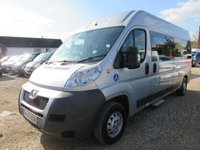 2013 PEUGEOT BOXER 2.2 HDI 335 L3H2 130 BHP 11 SEAT WHEELCHAIR ACCESSIBLE MINIBUS £19995.00