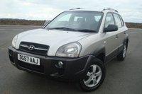 2007 HYUNDAI TUCSON 2.0 GSI 4WD 5d 140 BHP LOW MILEAGE £2795.00