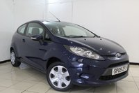 USED 2009 09 FORD FIESTA 1.2 STYLE 3DR 81 BHP AIR CONDITIONING + MULTI FUNCTION WHEEL + RADIO/CD + ELECTRIC WINDOWS + ELECTRIC MIRRORS
