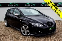 USED 2010 10 SEAT LEON 2.0 FR CR TDI 5d 168 BHP £0 DEPOSIT FINANCE AVAILABLE, AIR CON CLIMATE CONTROL, CD/MP3/RADIO, CRUISE CONTROL, FR EDITION CLOTH UPHOLSTERY, STEERING WHEEL CONTROLS