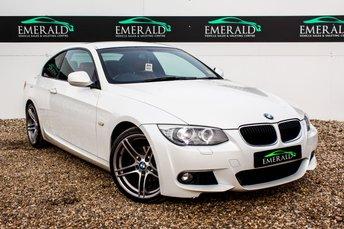 2011 BMW 3 SERIES 2.0 320I M SPORT 2d AUTO 168 BHP £10400.00