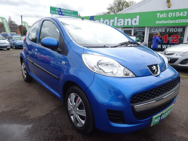 USED 2011 11 PEUGEOT 107 1.0 URBAN 5d 68 BHP 12 MONTHS MOT.. 6 MONTHS WARRANTY... FINANCE AVAILABLE