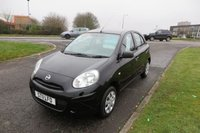 2011 NISSAN MICRA 1.2 VISIA 5d Only 32,000mls, Very Clean £3995.00