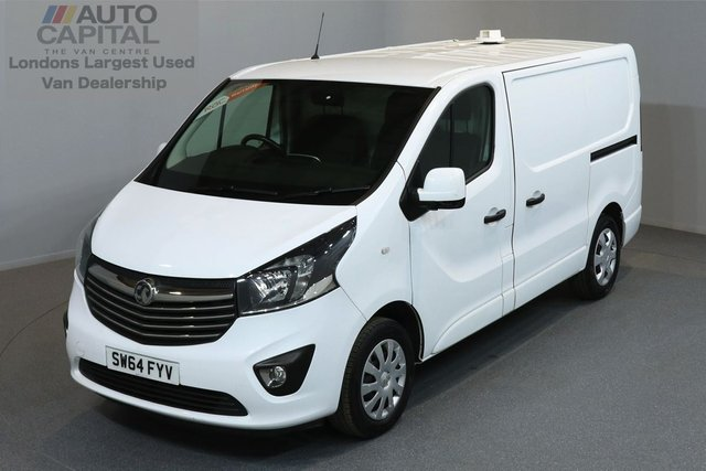 2015 64 VAUXHALL VIVARO 1.6 2900 L1H1 CDTI P/V SPORTIVE 5d 118 BHP A/C ECO DRIVE CRUISE CONTROL ONE OWNER FROM NEW