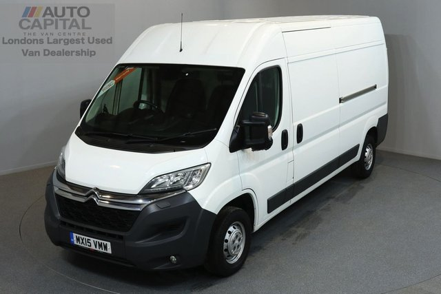2015 15 CITROEN RELAY 2.2 35 L3H2 ENTERPRISE HDI 5d 148 BHP AIR CONDITION NAVIGATION REVERSE CAMERA POWER FOLDING MIRRORS  ONE OWNER FROM NEW