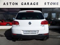 USED 2013 13 VOLKSWAGEN TIGUAN 2.0 SE TDI BLUEMOTION TECHNOLOGY 4MOTION DSG 5d AUTO 138 BHP ** 4x4 * LEATHER * PARK ASSIST **