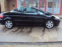 USED 2008 58 PEUGEOT 307 1.6 ALLURE COUPE CABRIOLET 2d 108 BHP