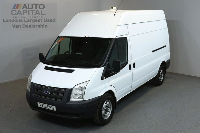 2013 13 FORD TRANSIT 2.2 350 124 BHP L3 H3 LWB HIGH ROOF ONE OWNER FROM NEW, FULL SERVICE HISTORY