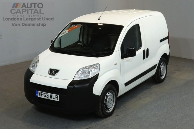 2013 63 PEUGEOT BIPPER 1.2 HDI 75 BHP SWB ONE OWNER FROM NEW, SERVICE HISTORY